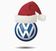 Christmas VW Badge by jay007