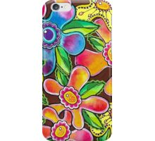 Funky Flowers iPhone Case/Skin