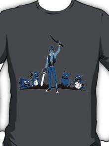 Ash Pokemon Zombie Master Blue T-Shirt