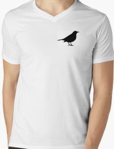 Scare Crow Mens V-Neck T-Shirt