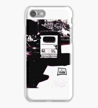 SOUND HORN iPhone Case/Skin