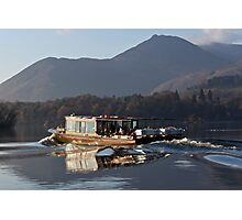 Derwentwater Launch Photographic Print
