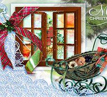 Christmas Kittens  by Elaine  Manley