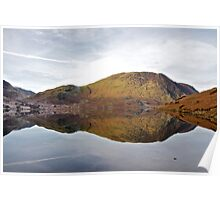 Reflections in Crummockwater Poster