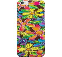 Funky Flowers (for Duvet & Clothing) iPhone Case/Skin