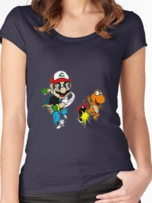Super PokeBros Women's Fitted Scoop T-Shirt