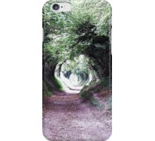 The Tunel of trees iPhone Case/Skin