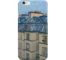 Rooftops, Paris iPhone Case/Skin
