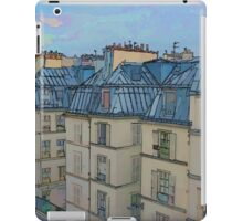 Rooftops, Paris iPad Case/Skin