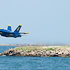 Blue Angel Solo barely lifts off  by Henry Plumley