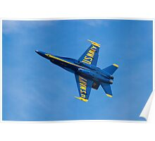 Blue Angels #4 Banking Out Poster