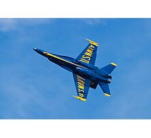 Blue Angels #4 Banking Out Photographic Print