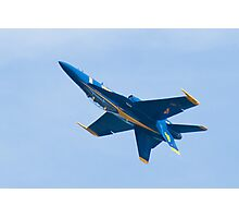 Blue Angels #4 inverted Photographic Print