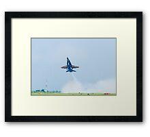 Blue Angels #5 Dirty Take Off Framed Print