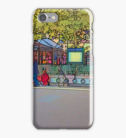Metro in the Bastille, Paris iPhone Case/Skin