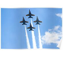 Blue Angels Diamond Belly Shot Poster