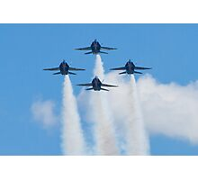 Blue Angels Diamond Head On Photographic Print