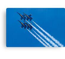 Blue Angels Diamond Loop Canvas Print