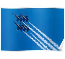 Blue Angels Diamond Loop Poster
