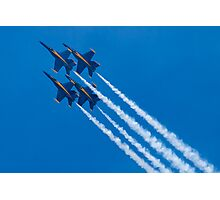 Blue Angels Diamond Loop Photographic Print