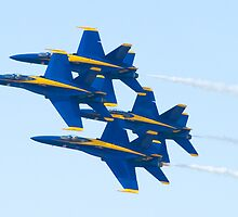 Blue Angels Diamond Pass  by Henry Plumley