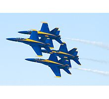 Blue Angels Diamond Pass  Photographic Print