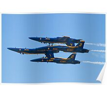 Blue Angels Double Farvel 2010  Poster