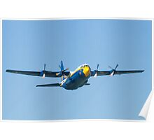 Blue Angels Fat Albert Head On Poster