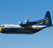 Blue Angels Fat Albert High Speed Pass by Henry Plumley