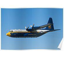 Blue Angels Fat Albert High Speed Pass Poster