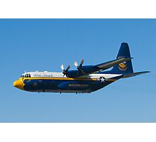 Blue Angels Fat Albert High Speed Pass Photographic Print
