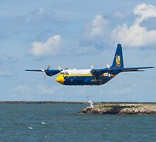 Blue Angels Fat Albert low take off by Henry Plumley