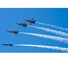 Blue Angels Inverted Tuck Over Roll Photographic Print