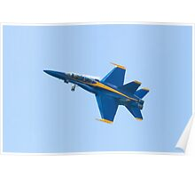 Blue Angels Solo #5 Dirty Roll on Take Off Poster