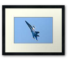 Blue Angels Solo #5(#7) Framed Print