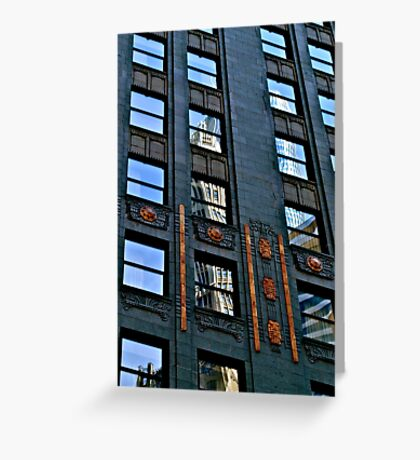 Chicago Skyscraper I Greeting Card
