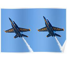 Blue Angels Solos Pass  Poster