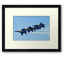 Blue Angels Stacked Framed Print