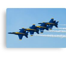 Blue Angels Stacked Canvas Print