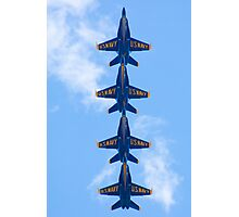 Blue Angels Tucked Under Photographic Print