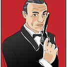 Digiter - Bond, Sean Connery by Lauren Eldridge-Murray