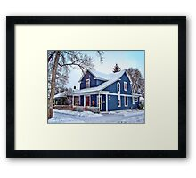 Giving Thanks for the Holiday Season Framed Print