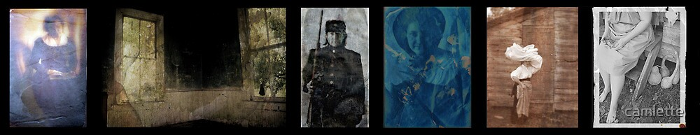 If I Were a Woman Living In...1839, 1851, 1863, 1888, 1907, 1938 by Cameron Hampton