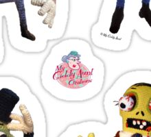 Giddy Aunt Monster stickers Collection  Sticker