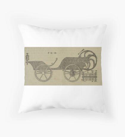 Vintage bike 2 Throw Pillow
