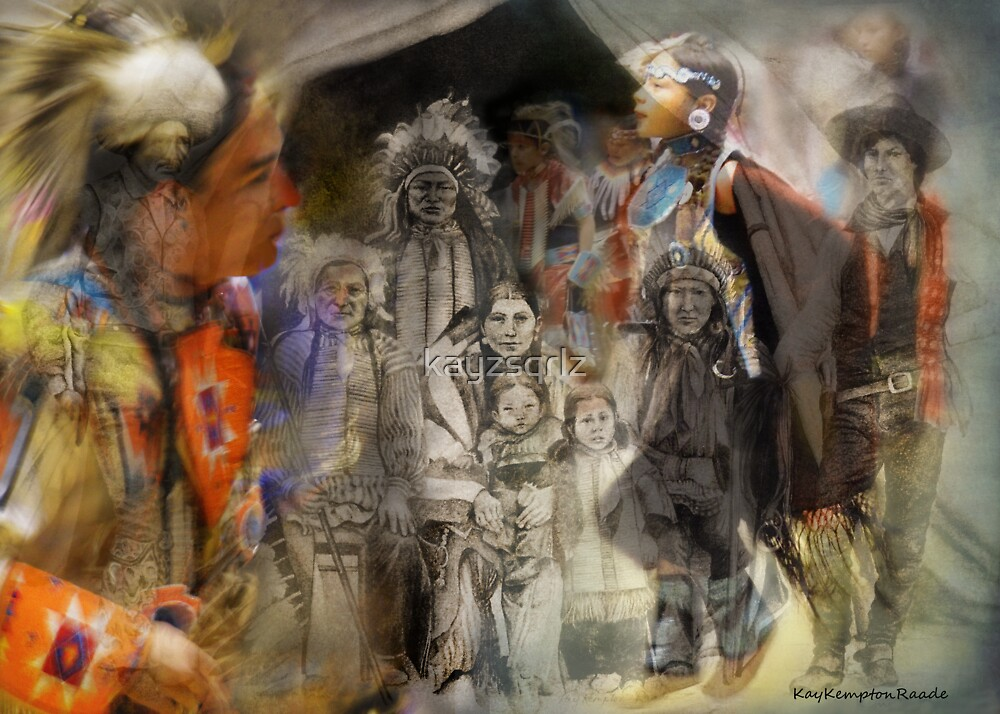 Wild West Then and Now by Kay Kempton Raade