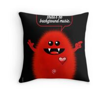 REAL TROUBLE Throw Pillow