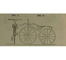 Vintage bike 4 Photographic Print