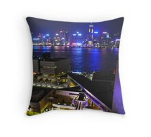 Hong Kong from Kowloon Throw Pillow