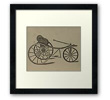Vintage bike 6 Framed Print